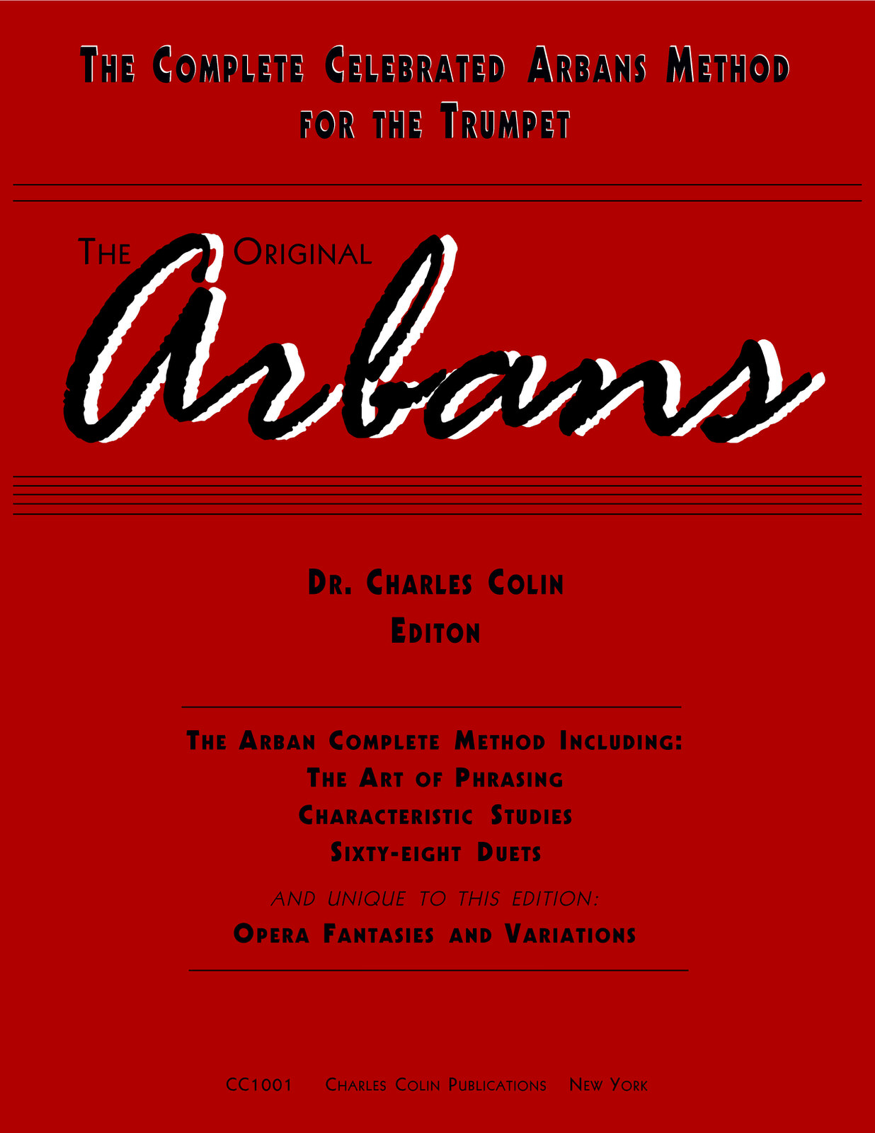 Complete celebrated method by arban jean baptiste qpress arban colin edition cover arban conservatory method fandeluxe Image collections