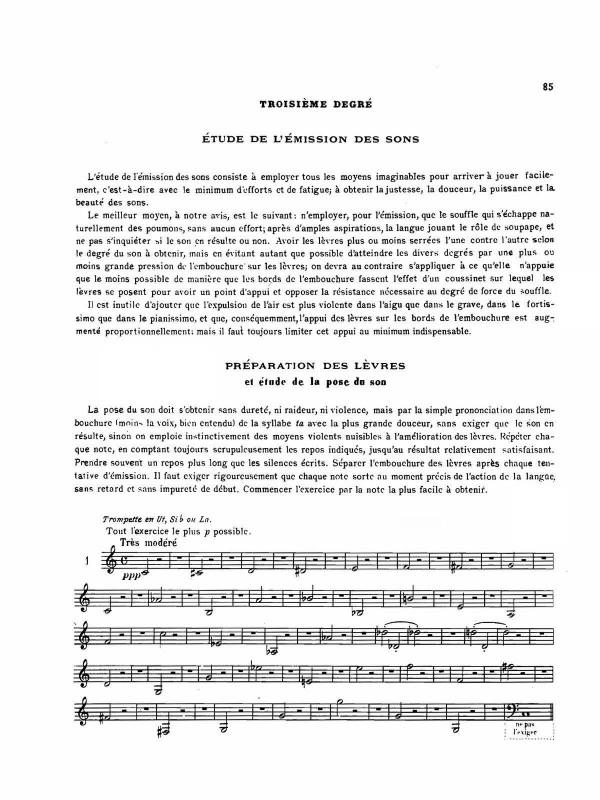 Franquin, Methode Complete de Trompette Moderne.