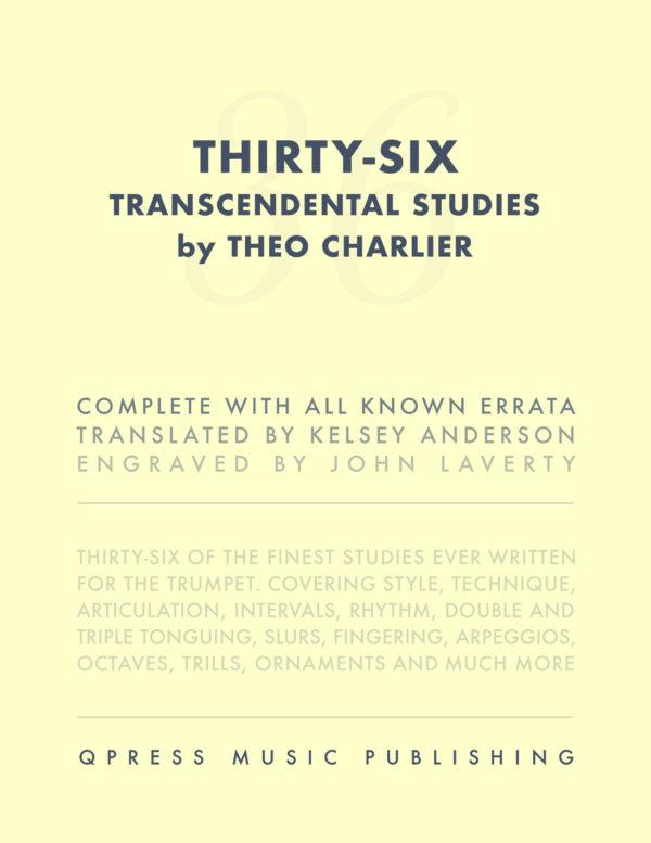 Charlier's 36 Transcendental Studies