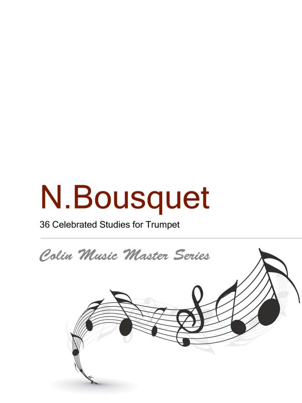 Bousquet 36 Etudes for Trumpet