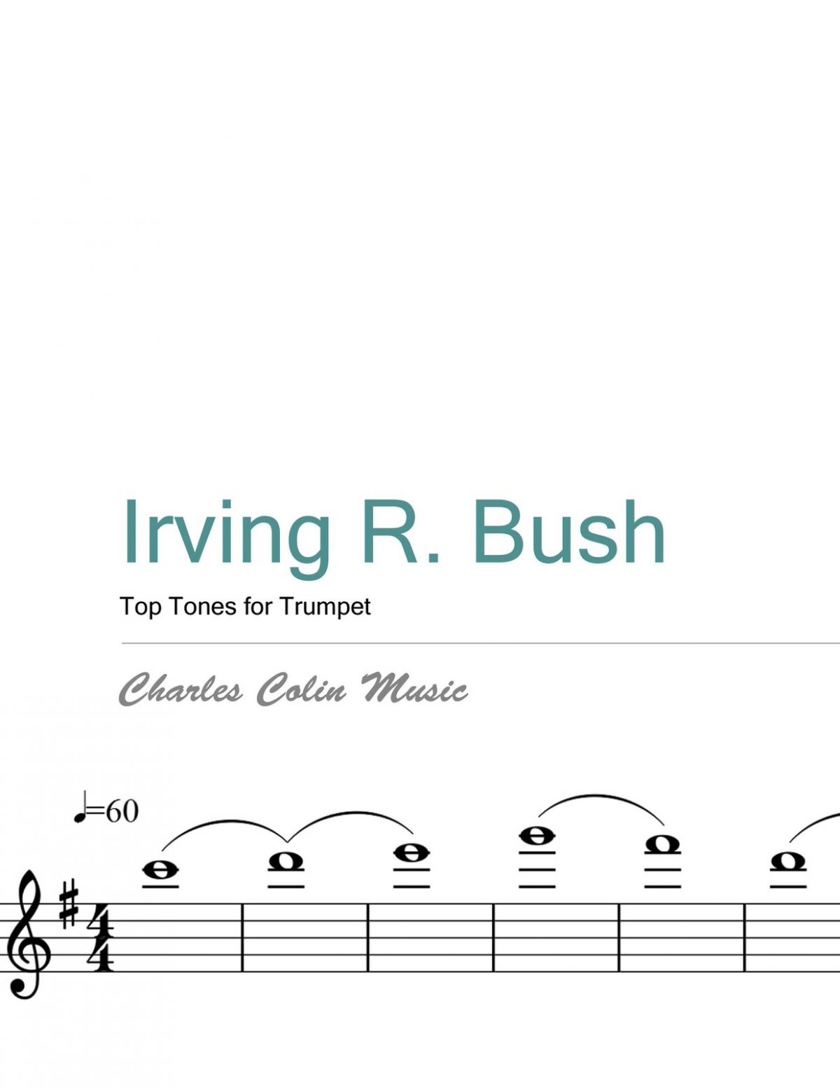 Bush, Top Tones for Trumpet PDF