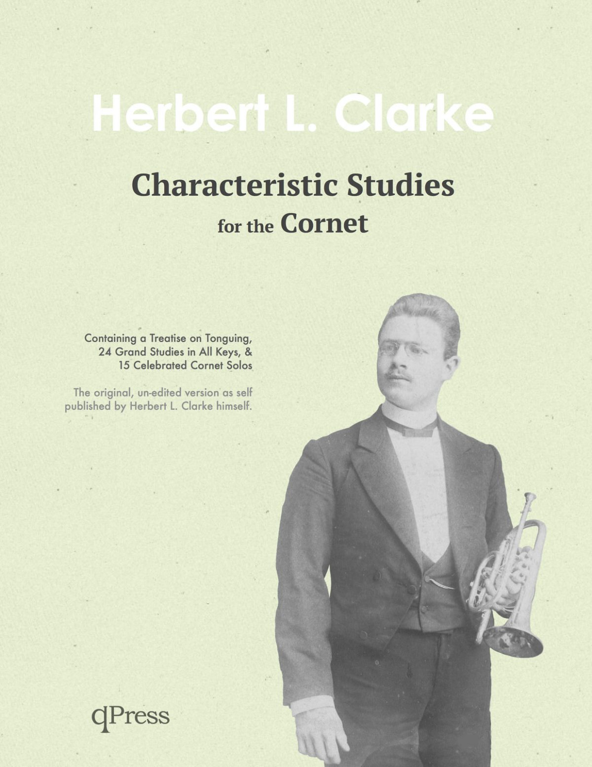 Clarke, Characteristic Studies for the Cornet