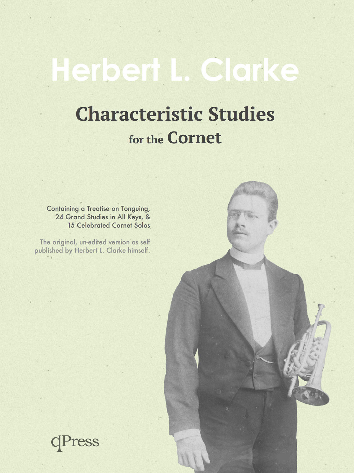 Clarke, Characteristic Studies for the Cornet