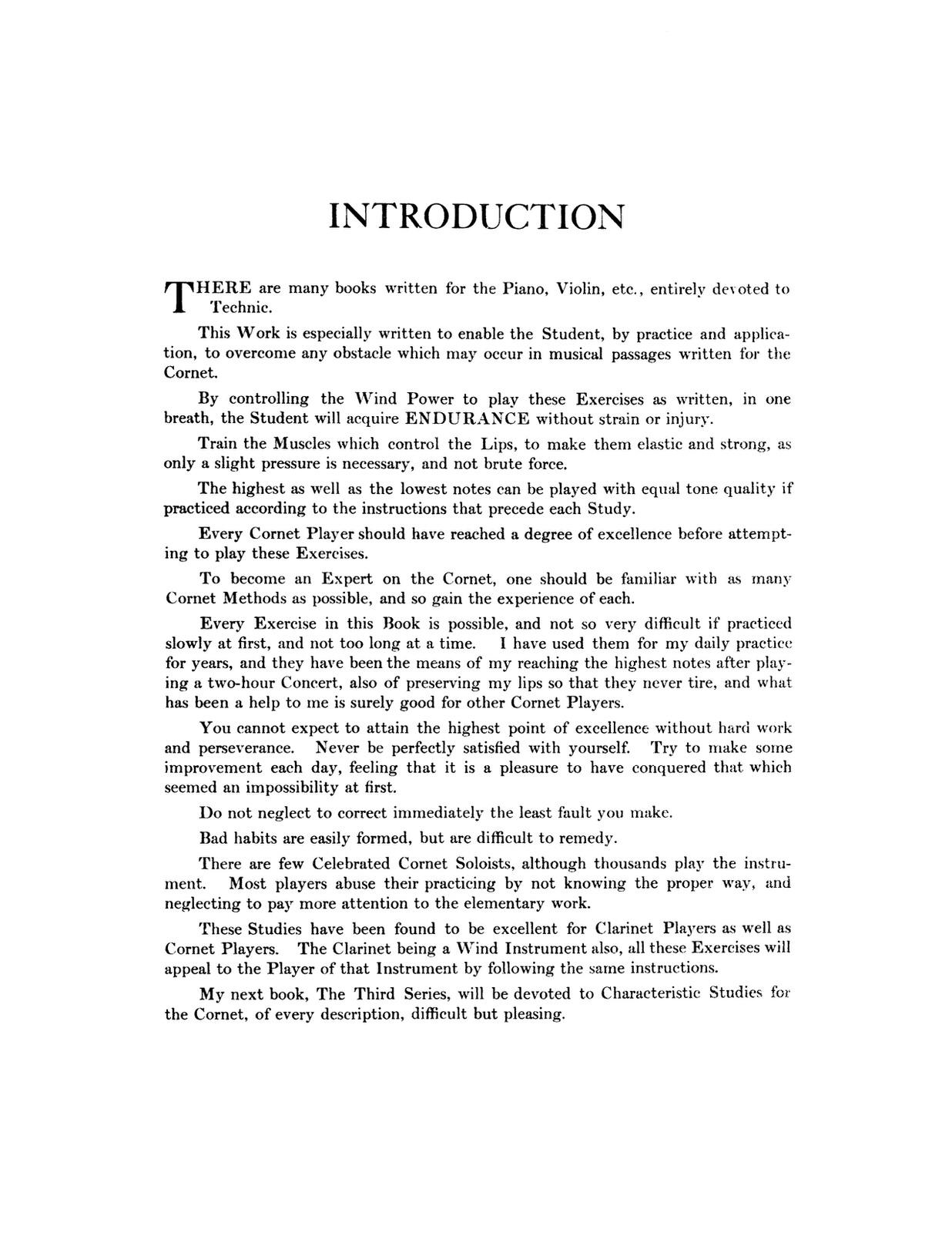 Herbert L clarke Technical studies pdf
