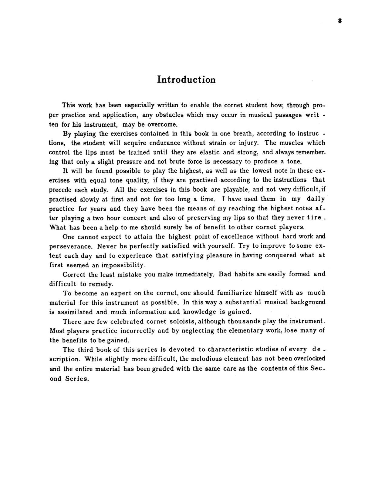 Clarke, Technical Studies for the Cornet 1st Edition 2
