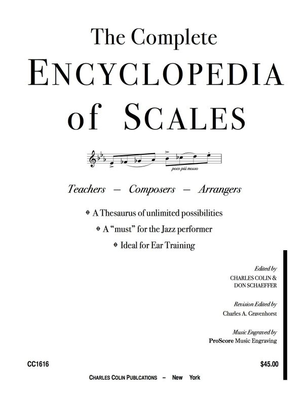 Colin, Complete Encyclopedia of Scales PDF