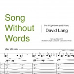 Lang, Song without Words Trumpet and Flugelhorn PDF