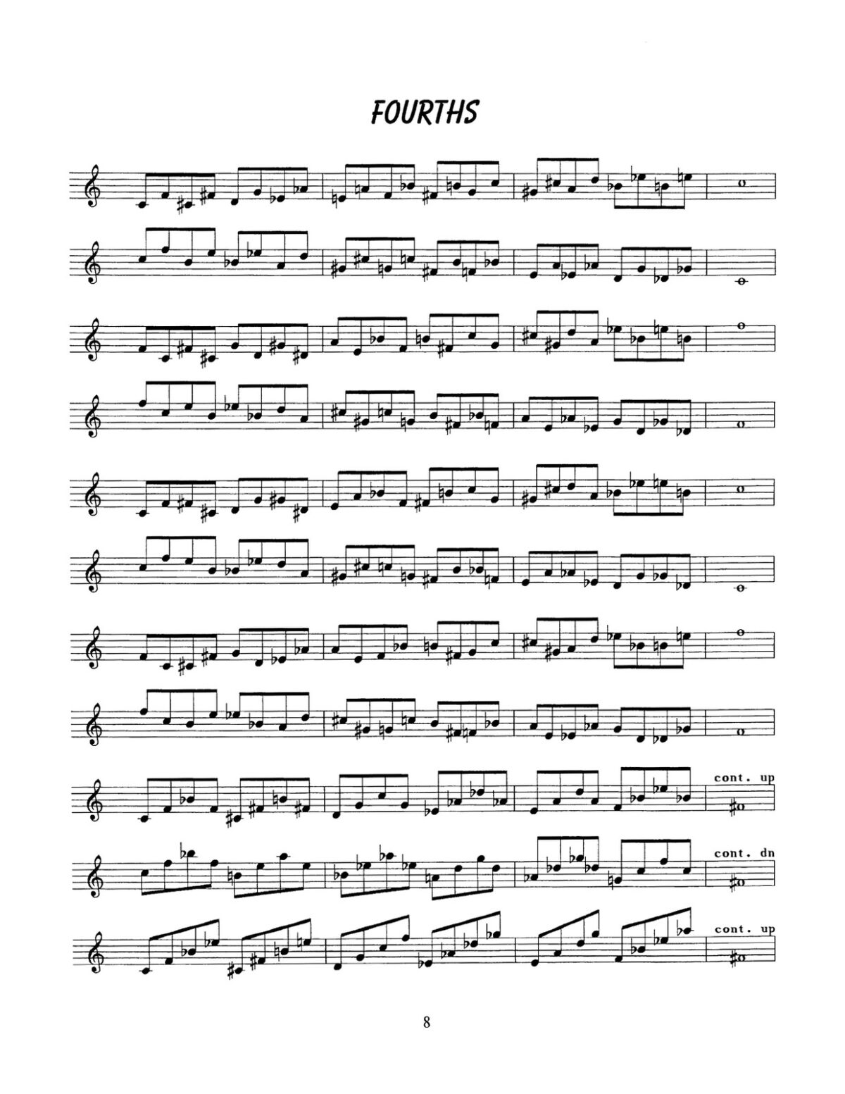 D'Aveni, Jazz Trumpet Technique Vol.1 Flexibility-p10a