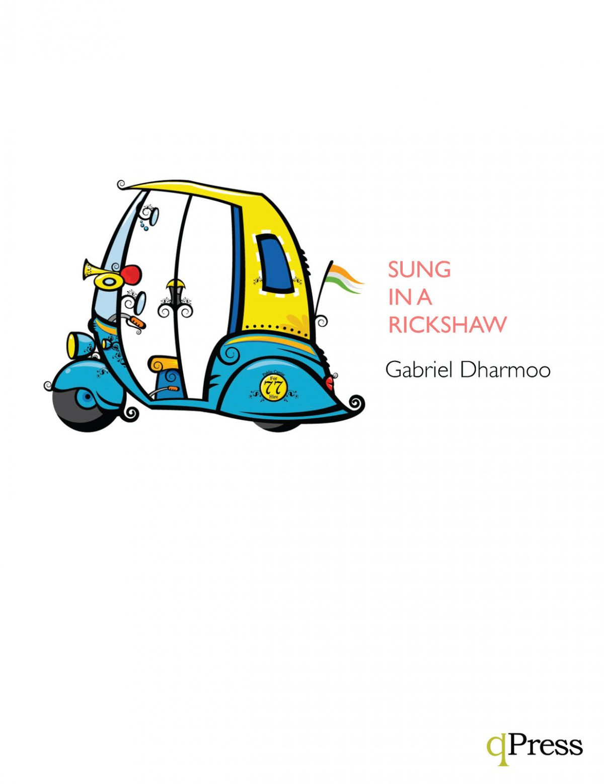 Dharmoo, Sung in a Rickshaw, C Trumpet Cover Image