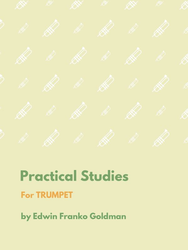 Goldman, Practical Studies For Trumpet-p01