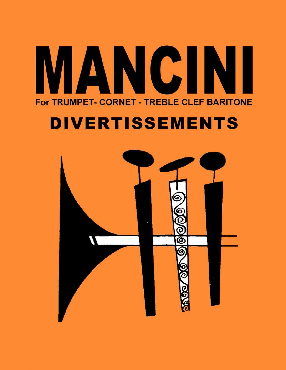 Mancini, Divertissements for Trumpet-p01