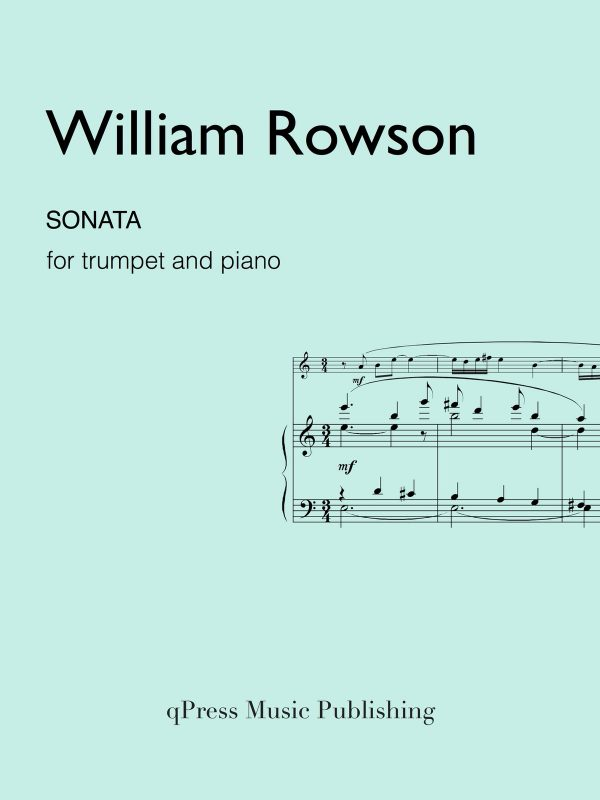 Rowson, Sonata for Trumpet and Piano-p01