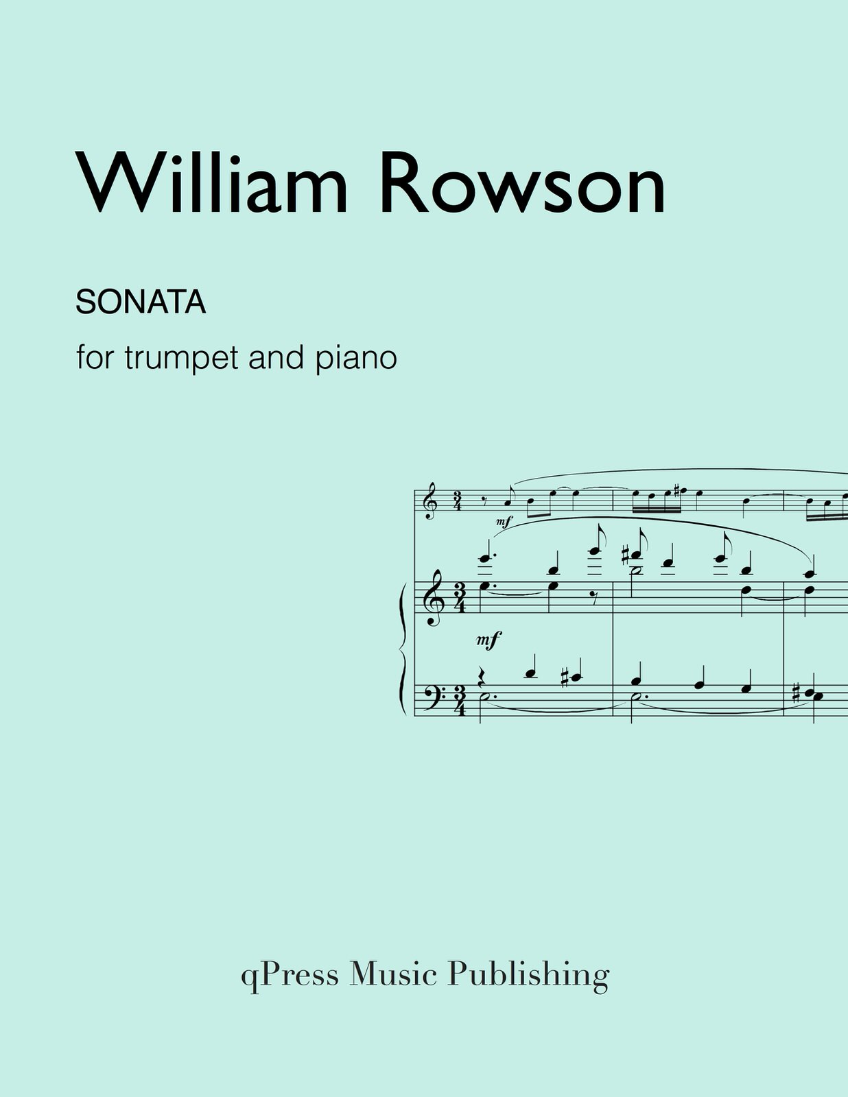 Rowson, Sonata for Trumpet and Piano-p01