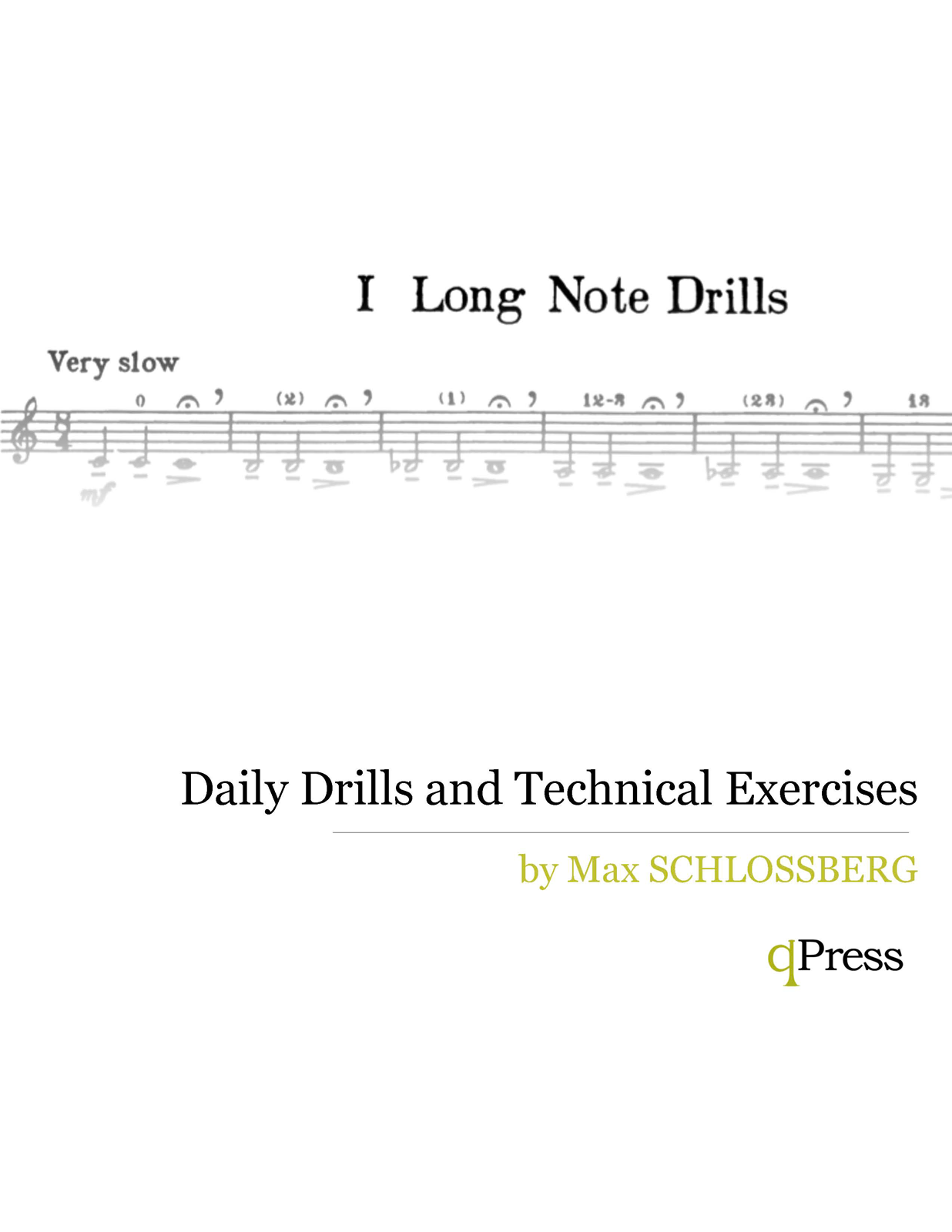 Max schlossberg trumpet pdf