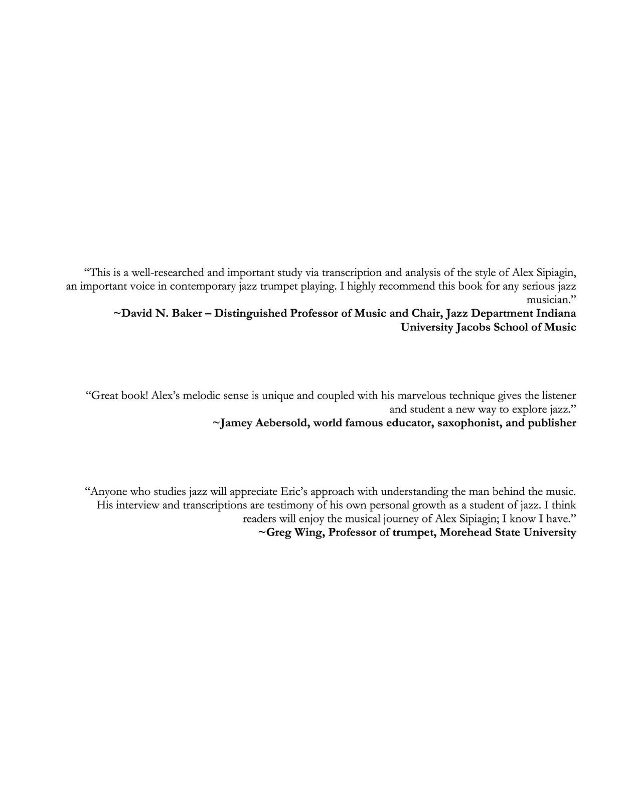 Siereveld, Modern Approach to Improvisation Volume 1 Sipiagin-p05