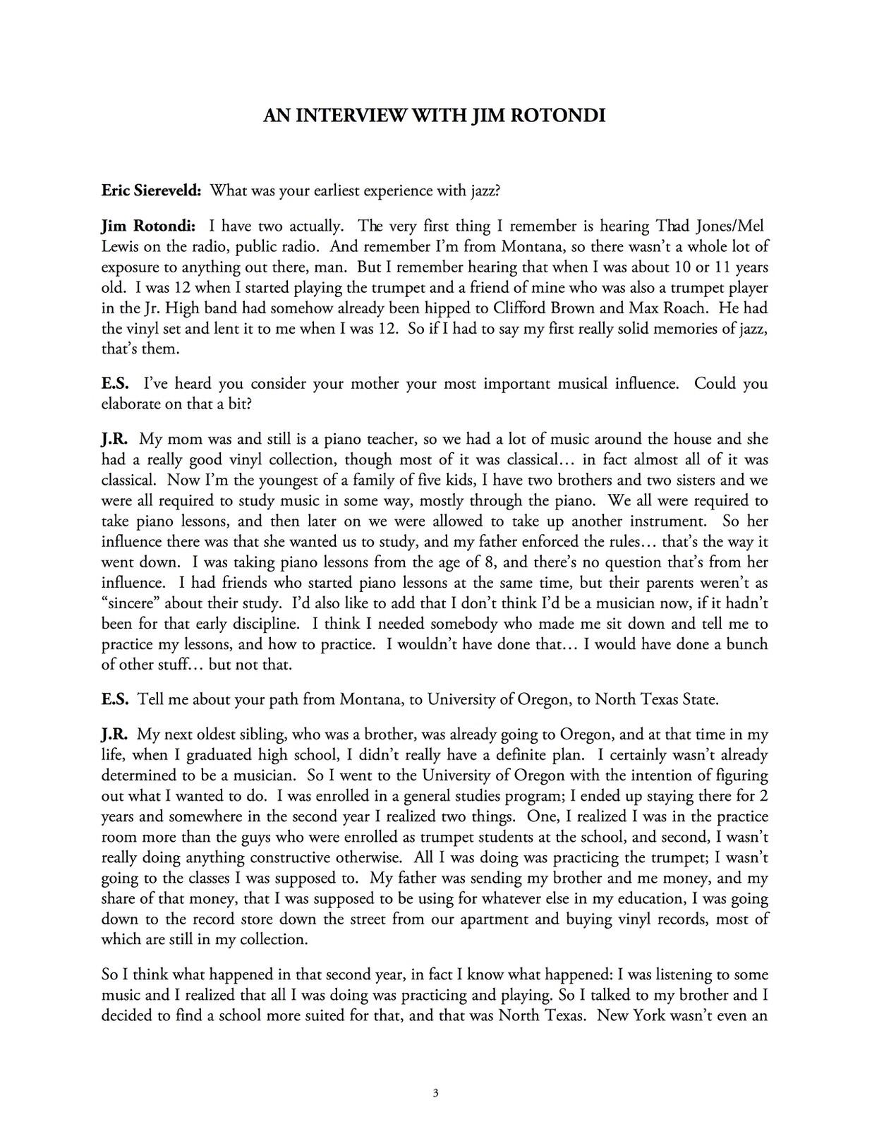 Siereveld, Modern Approach to Improvisation Volume 2 Rotondi-p13