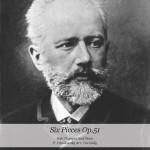 Tchaikovsky, Eddy, Six Pieces op51
