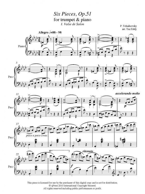 All Music Chords grieg wedding day at troldhaugen sheet music : Trumpet and Piano PDFs | Page 7 of 7 | qPress