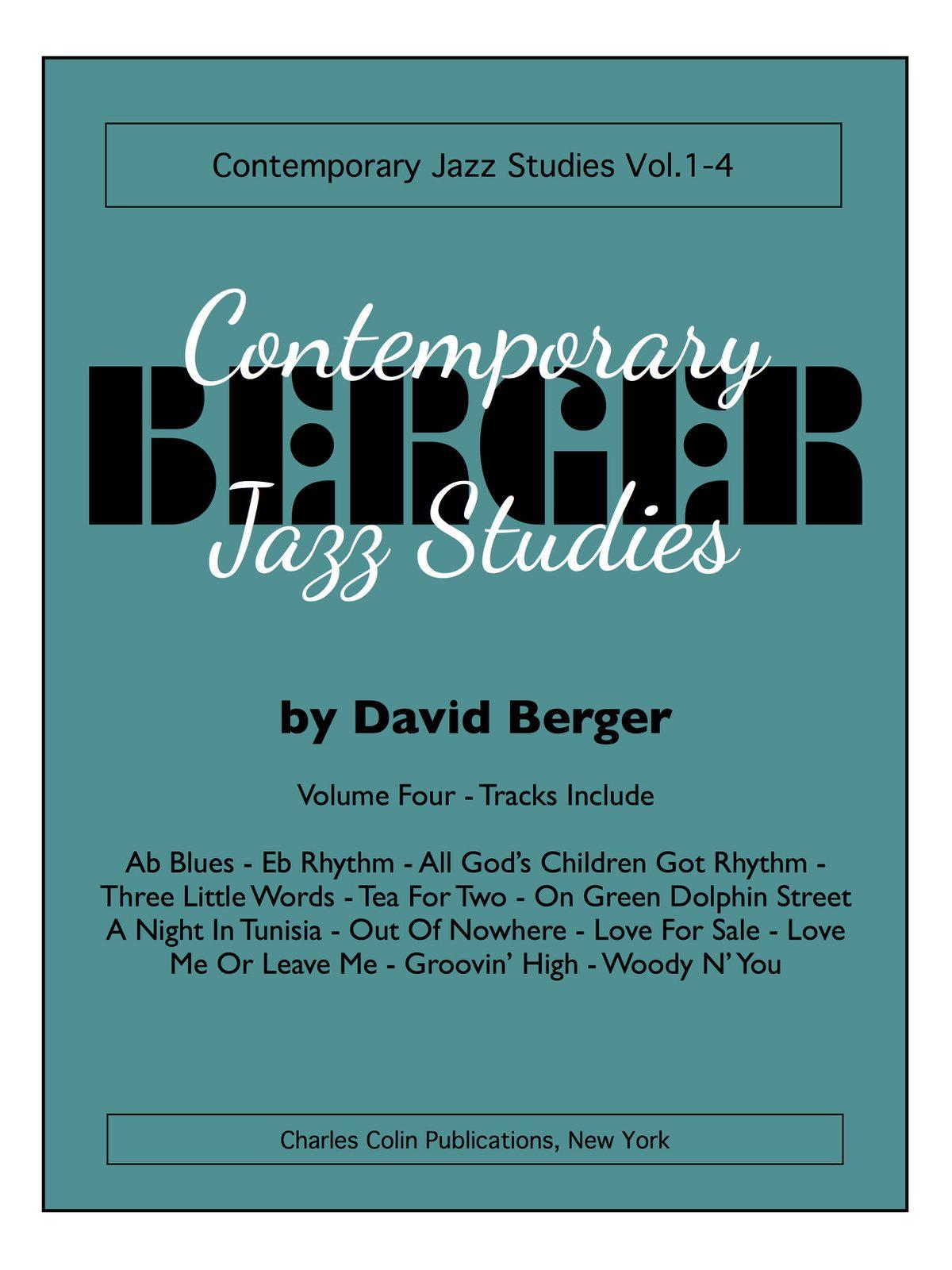 Berger, David Contemporary Jazz Studies V.4