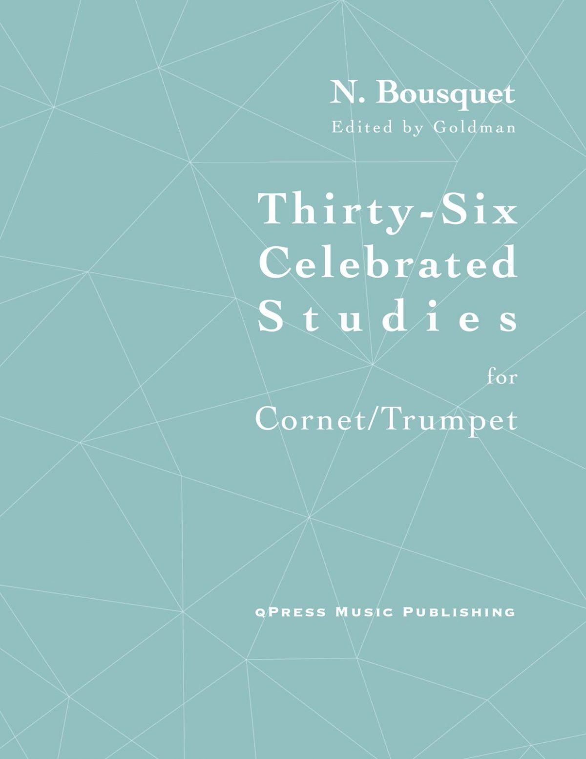 Bousquet, 36 Celebrated Studies for Cornet-p01