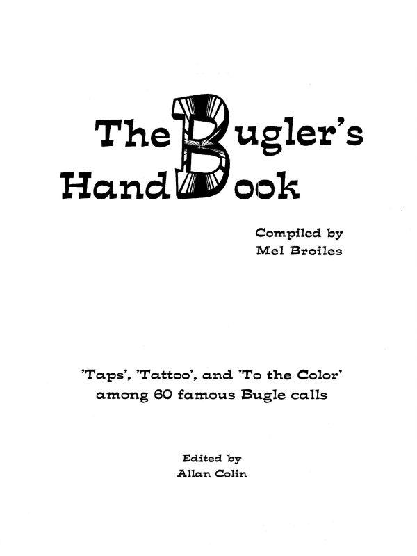 Broiles, Bugler's Handbook