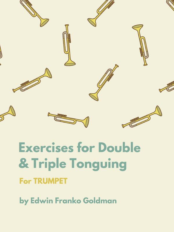 Goldman, Exercises for Double and Triple Tonguing-p01