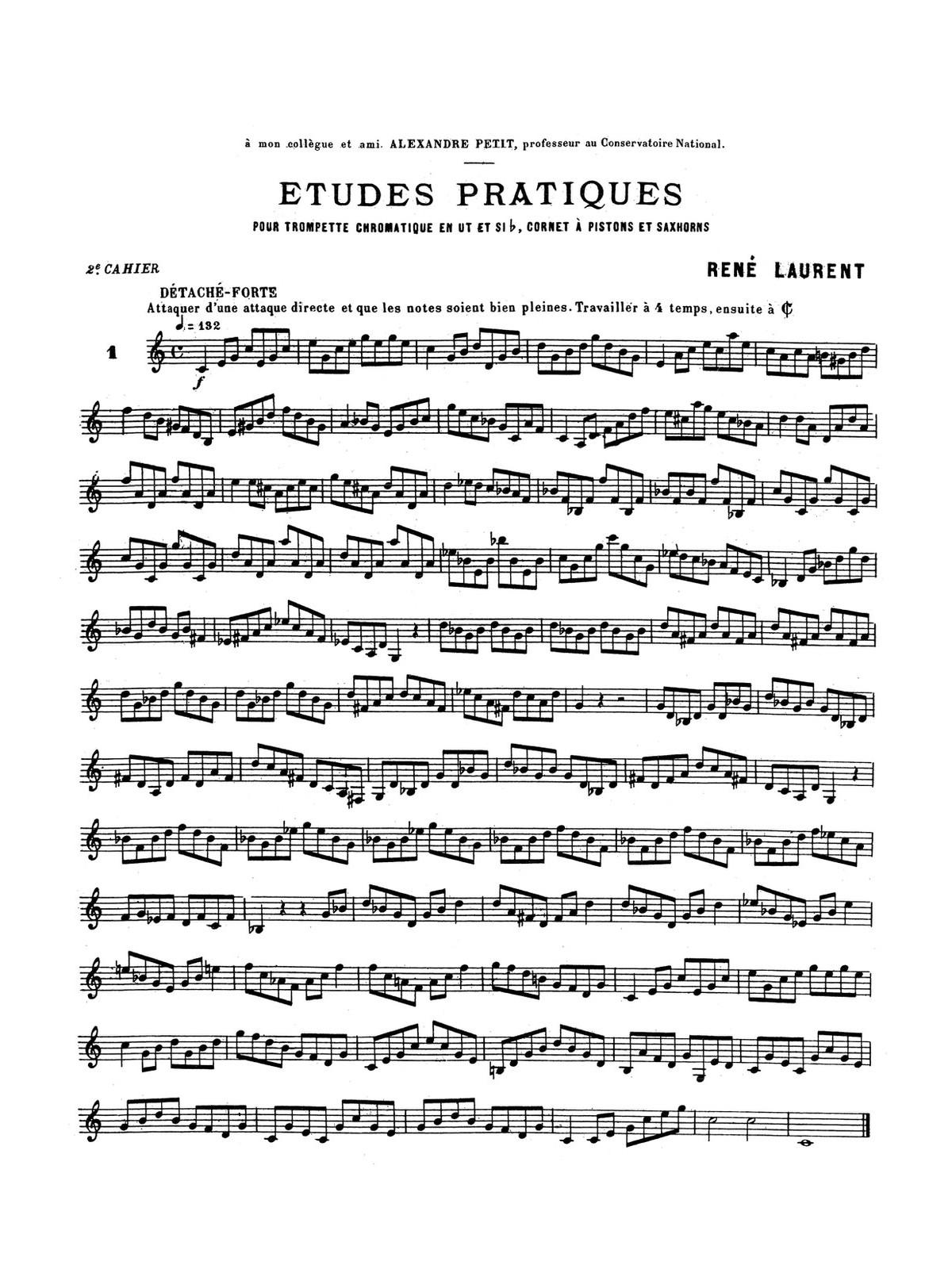 Laurent, Etudes Pratiques Vol.2