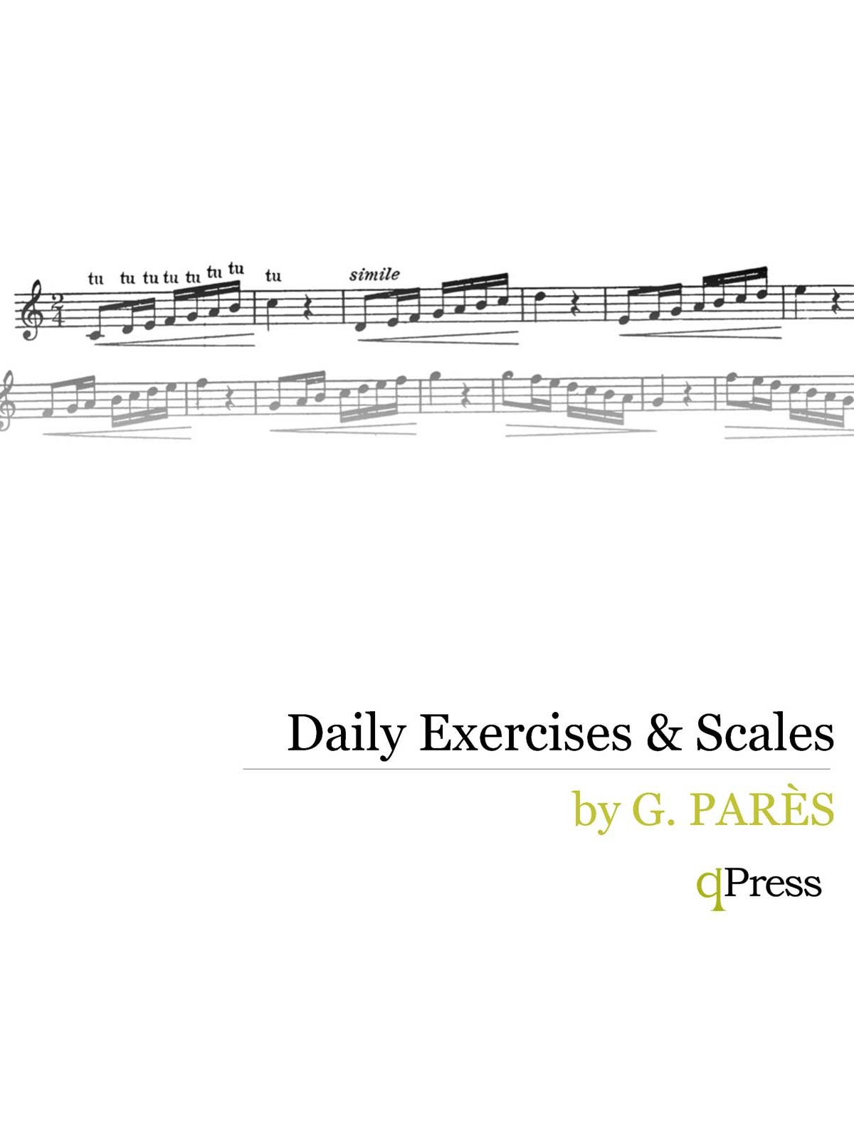 Pares, Daily Exercises and Scales PDF