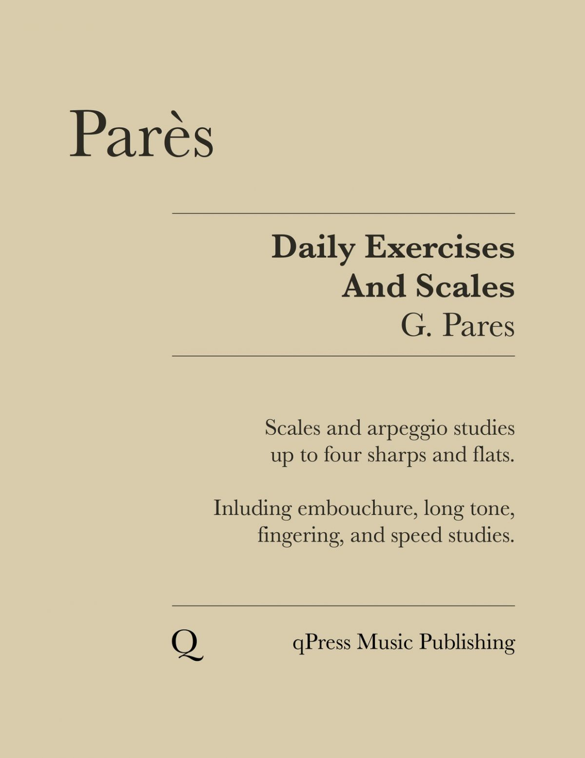 Pares, Daily Exercises and Scales-p01