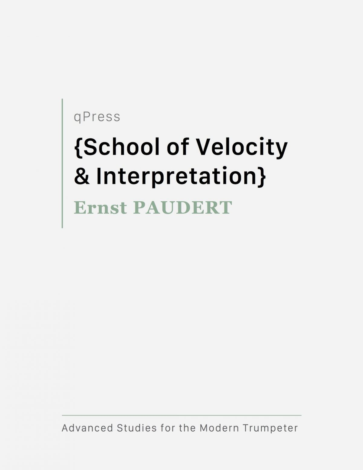 Paudert, School of Velocity and Interpretation-p01