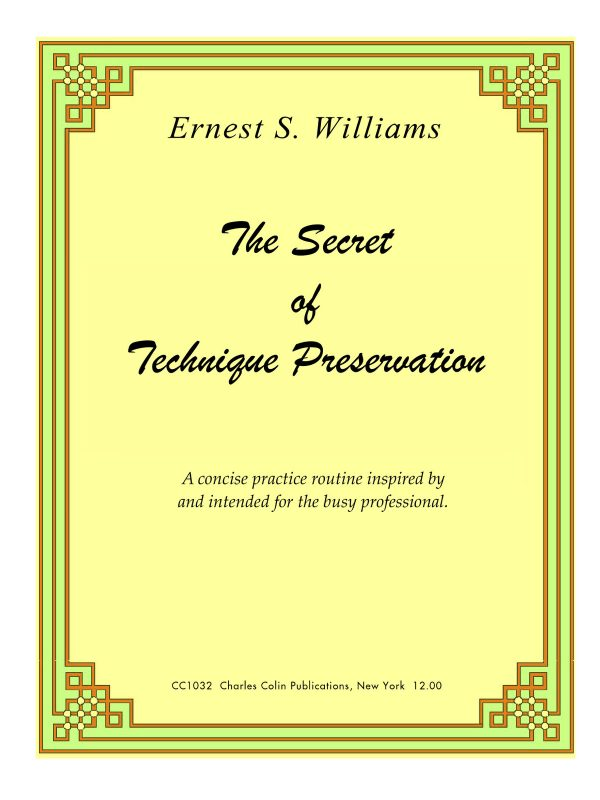 Williams, The Secret of Technique Preservation PDF