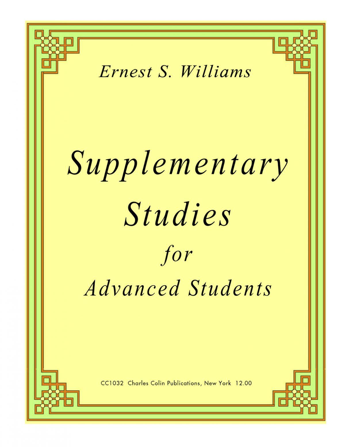 Willimas, Supplementary Studies PDF