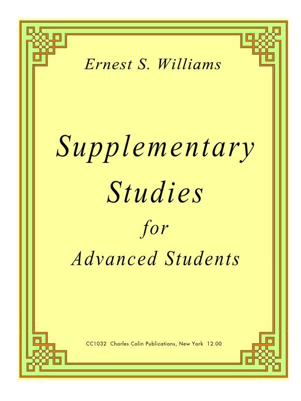 Willimas, Supplementary Studies PDF
