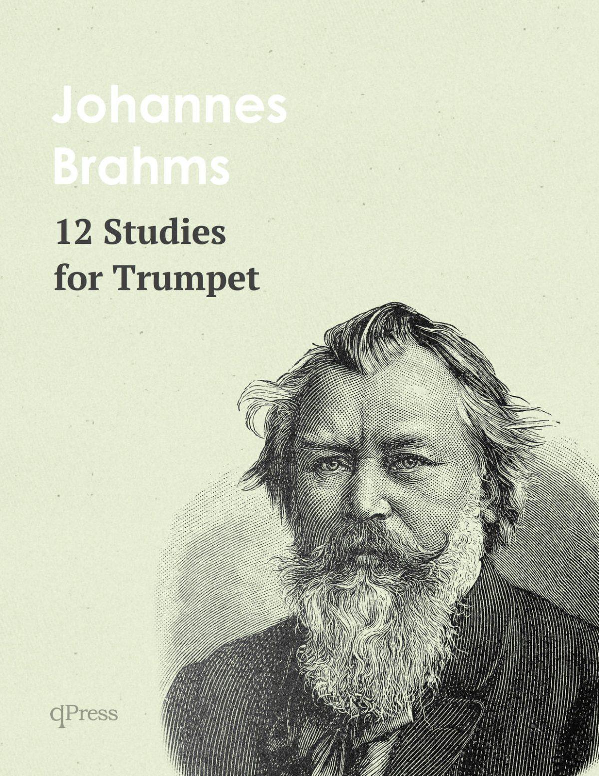 Brahms, 12 Etudes for Trumpet-p01