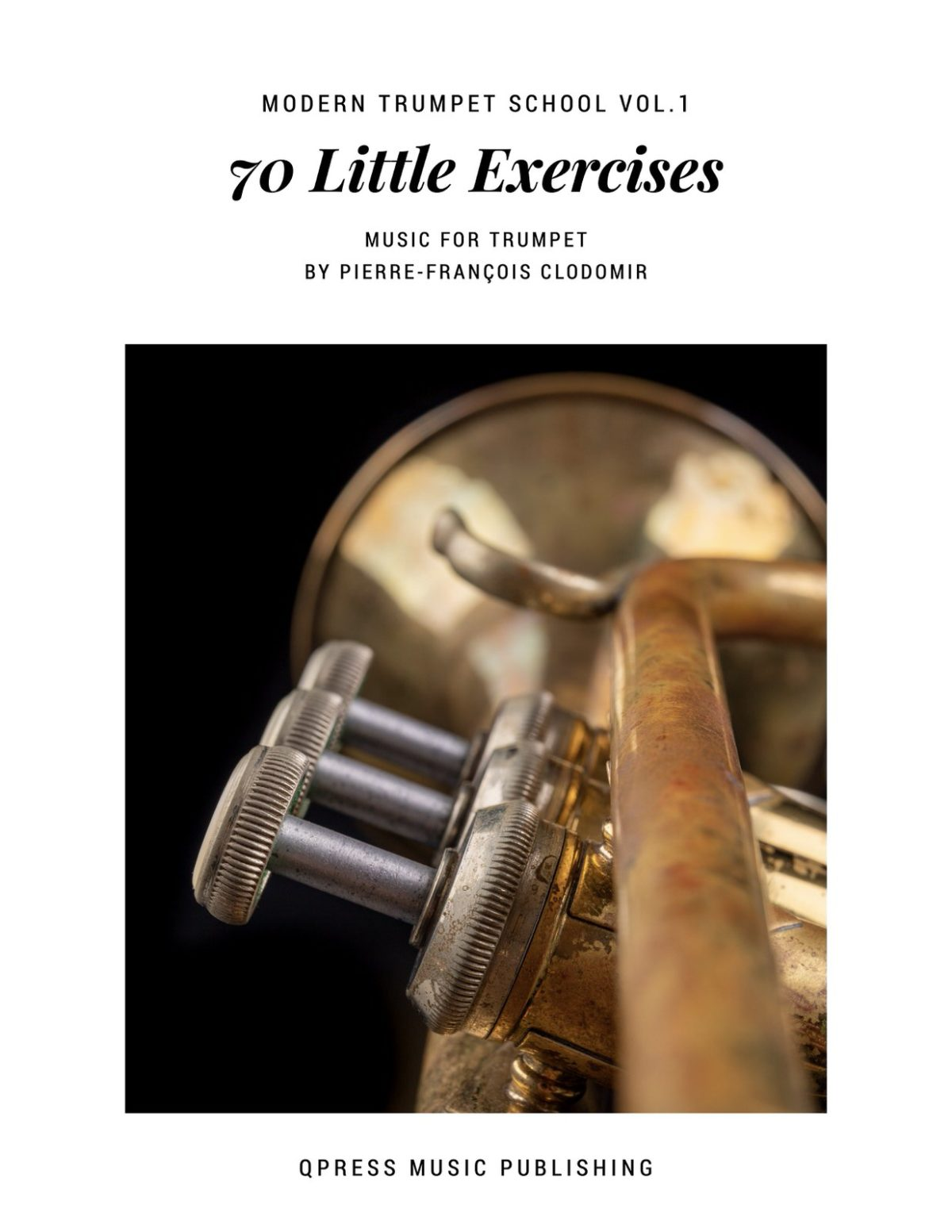 Clodomir, Modern Trumpet School 1, Little Exercises-p01