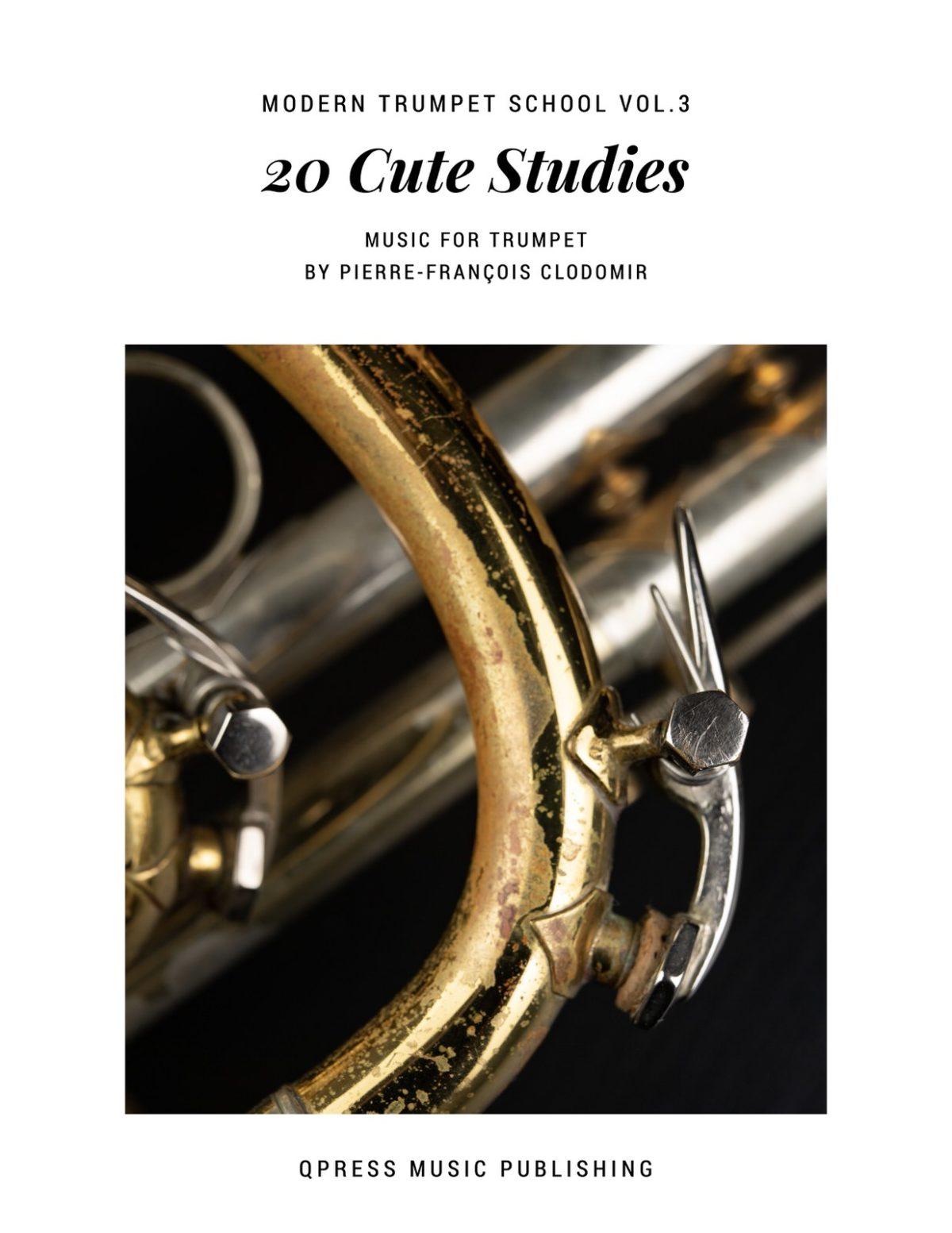 Clodomir, Modern Trumpet School 3, 20 Cute Studies-p01