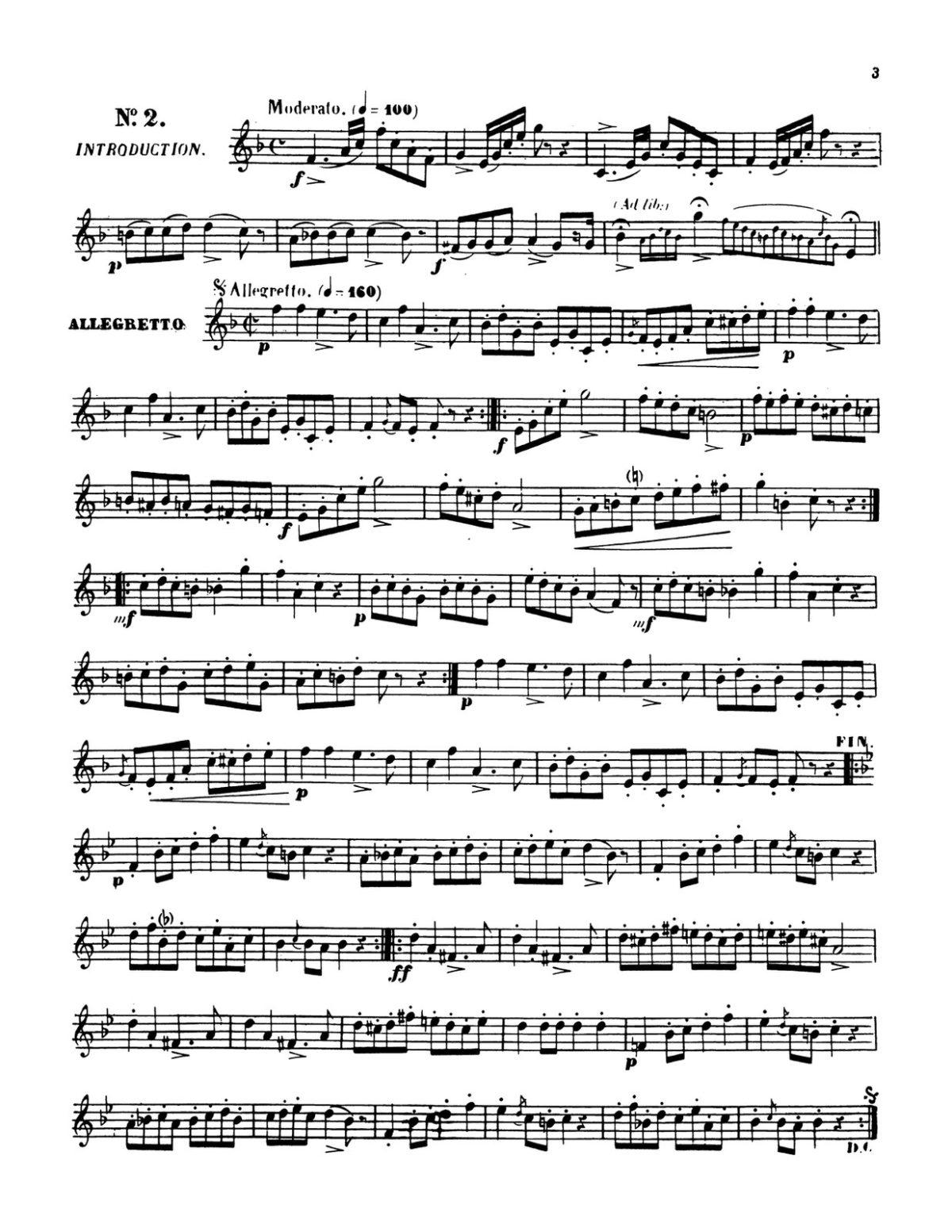 Clodomir, Modern Trumpet School 3, 20 Cute Studies-p03