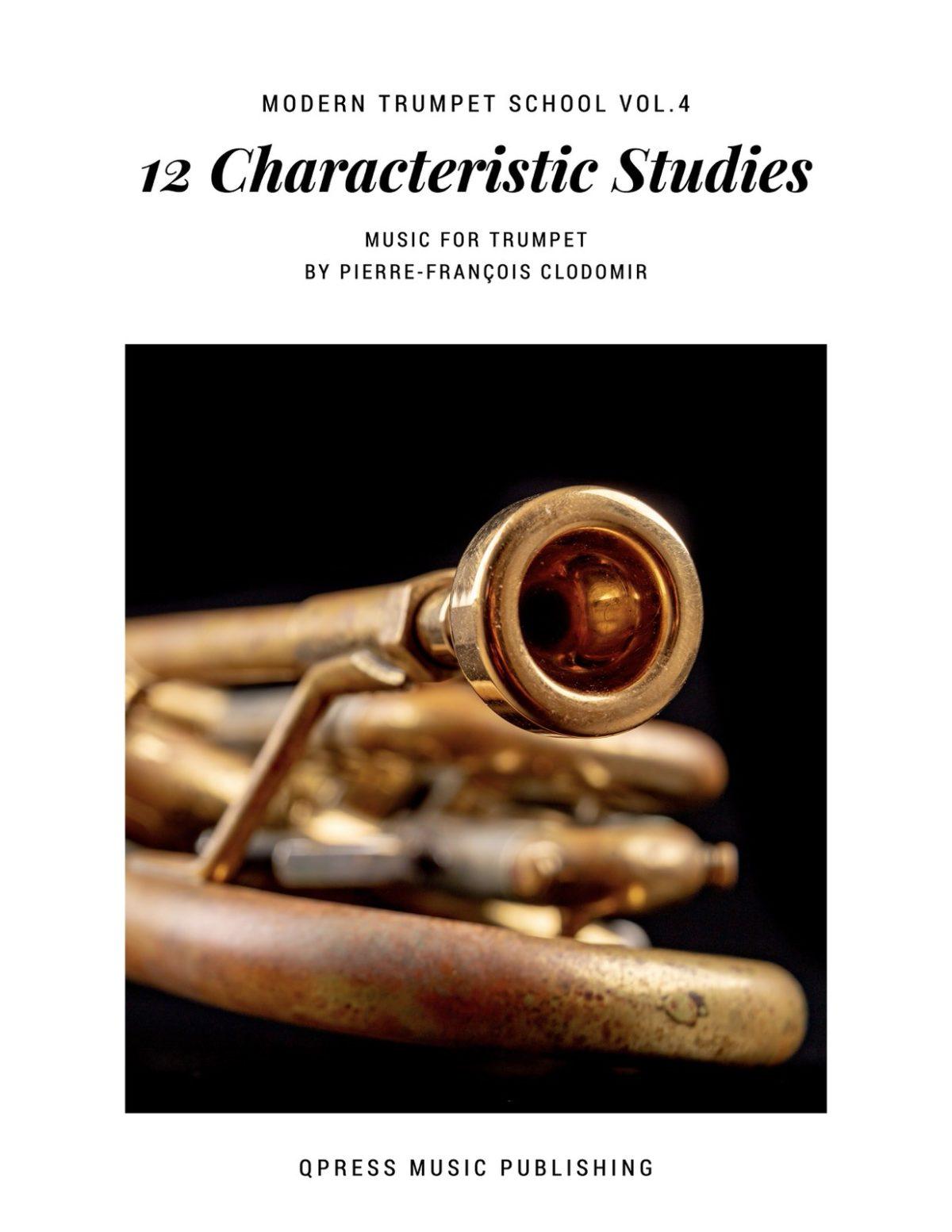 Clodomir, Modern Trumpet School 4, 12 Charateristic Studies-p01