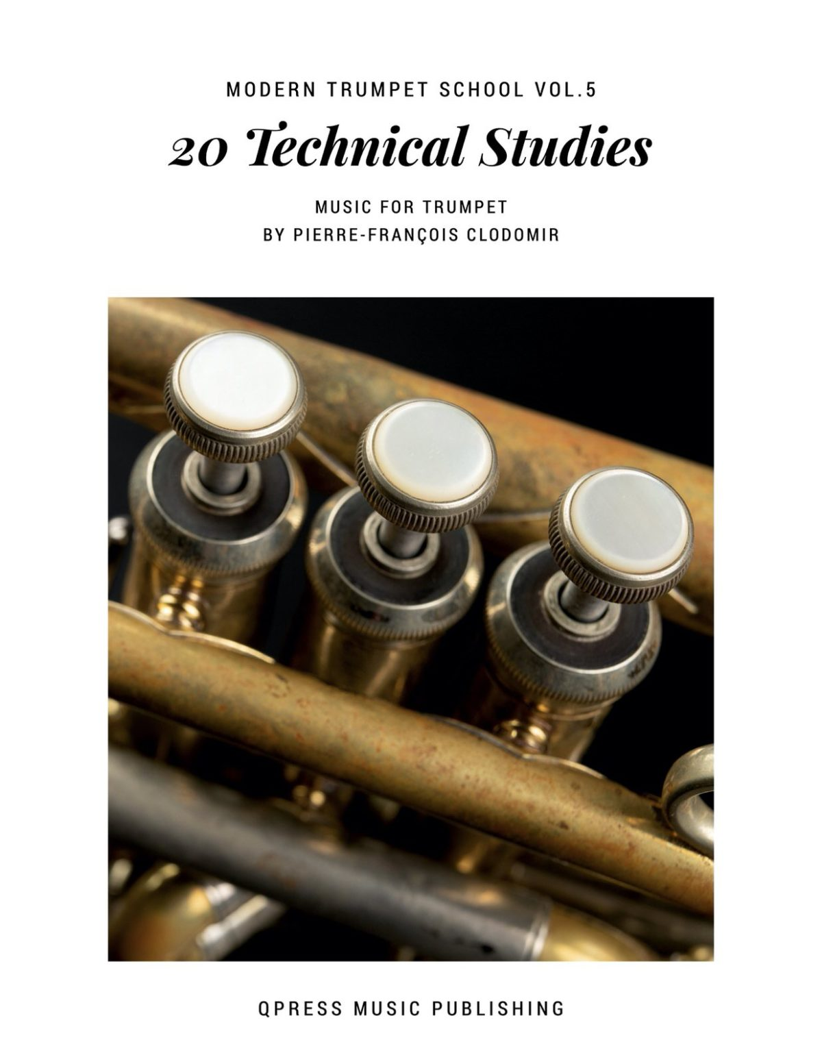 Clodomir, Modern Trumpet School 5, 20 Technical Studies-p01
