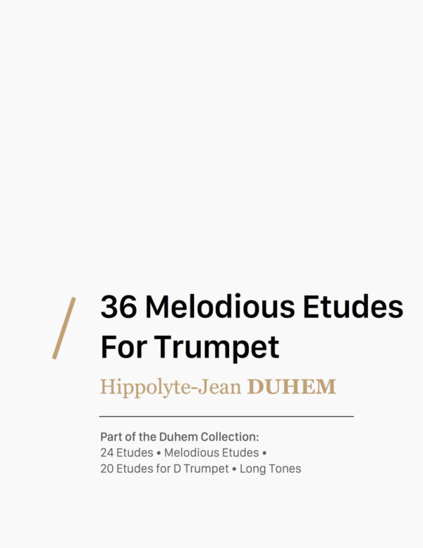 36 Melodious Etudes