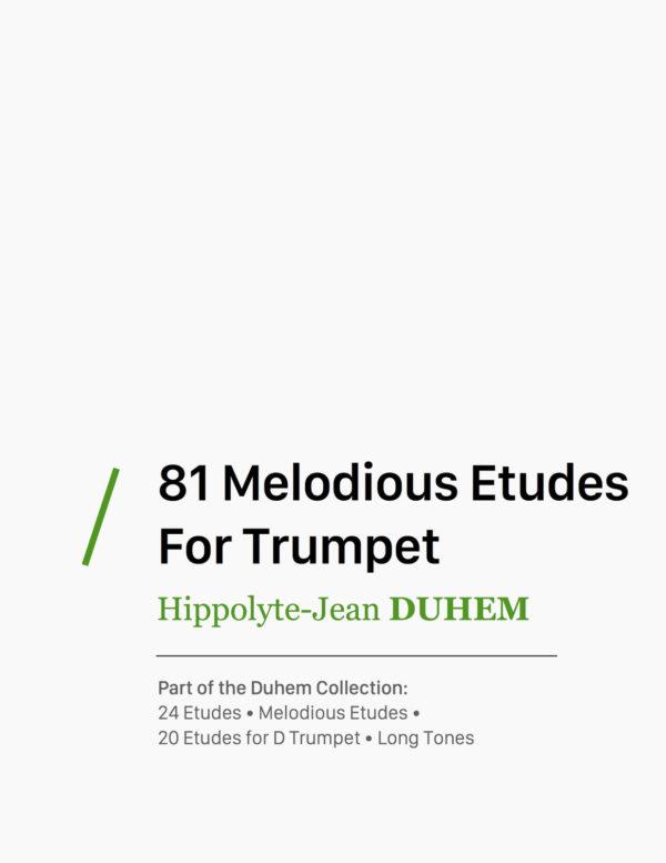 81 Melodious Etudes