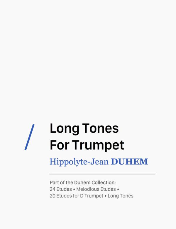 Long Tones