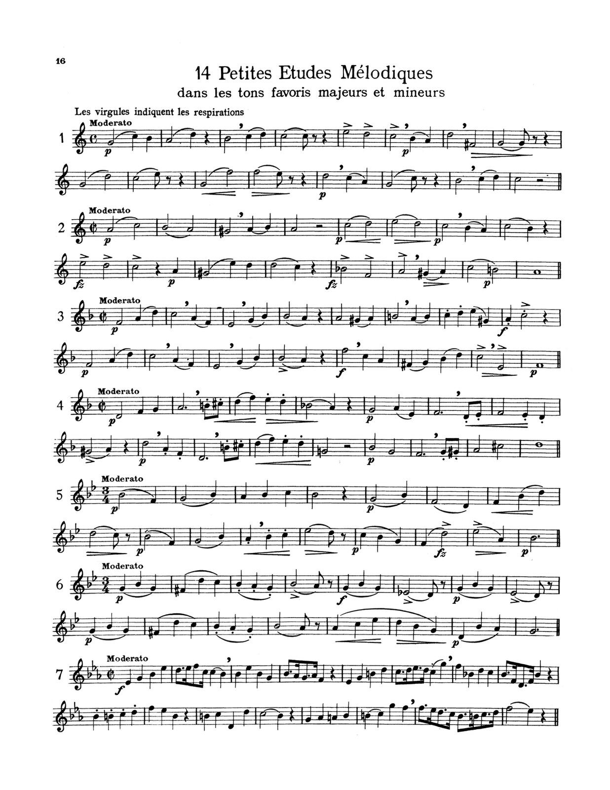Complete Melodious Etudes by Duhem, H    qPress