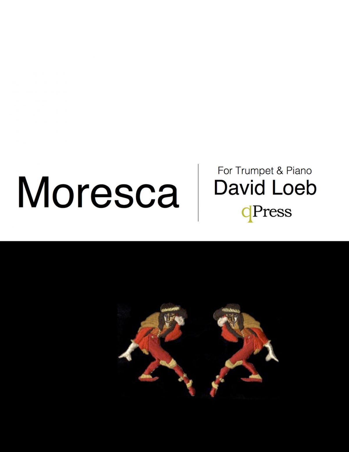 Moresca, Piano Score