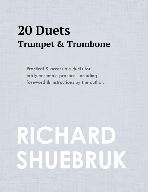 20 Duets for Trumpet & Trombone
