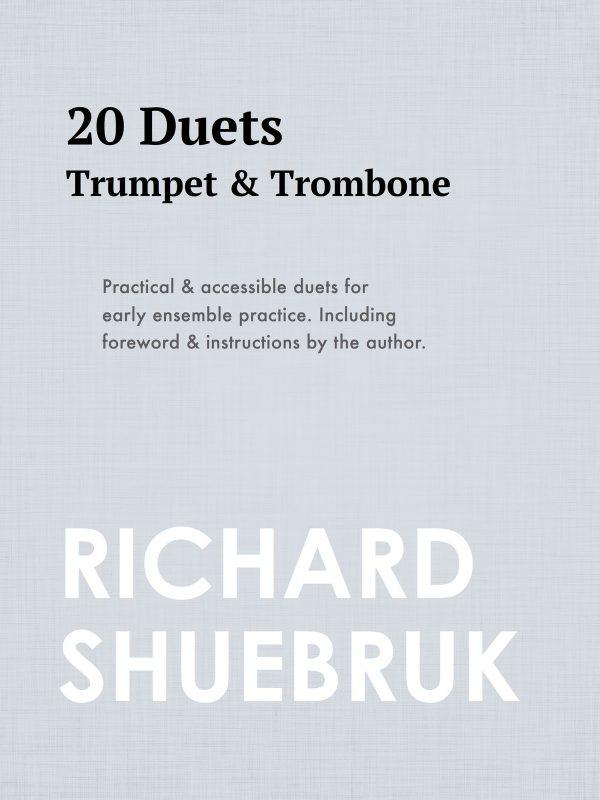 Shuebruk, 20 Duets Trumpet and Trombone-p01
