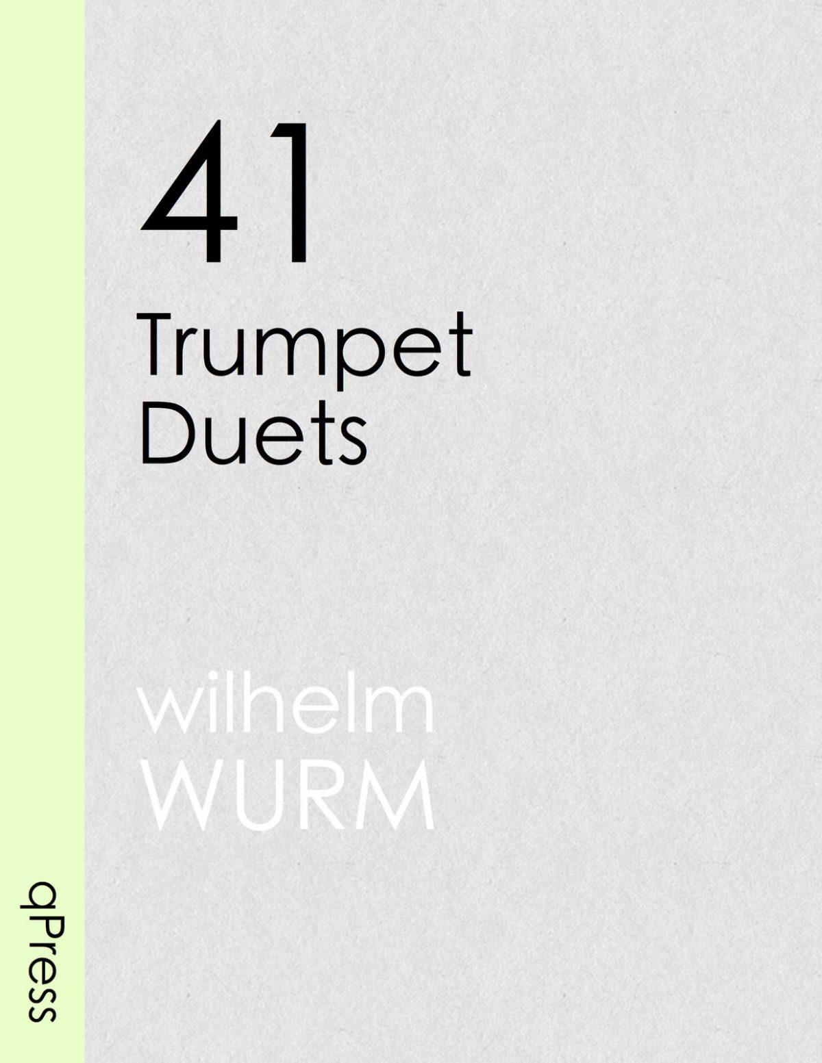 wurm-41-trumpet-duets