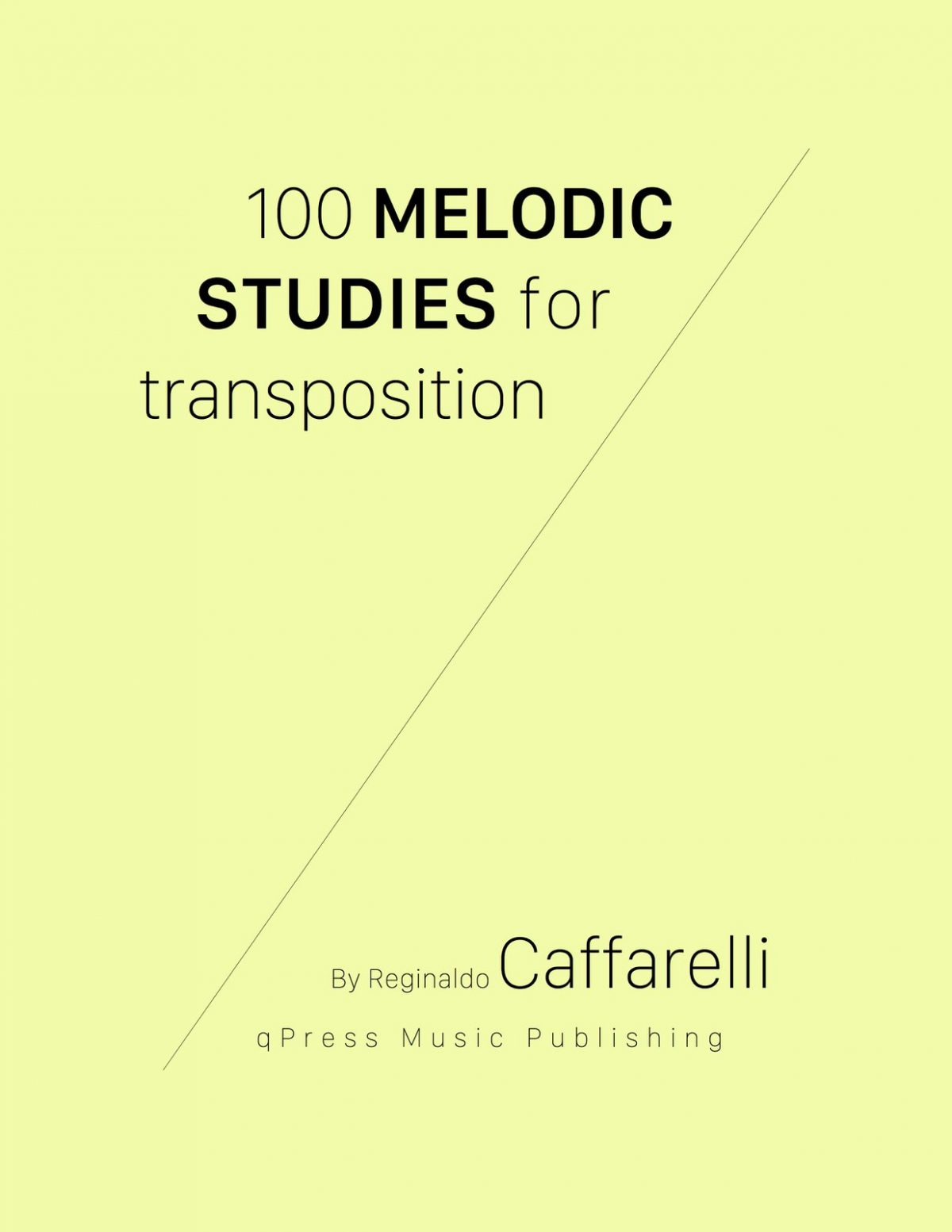 Caffarelli, 100 Studi Melodici-p01