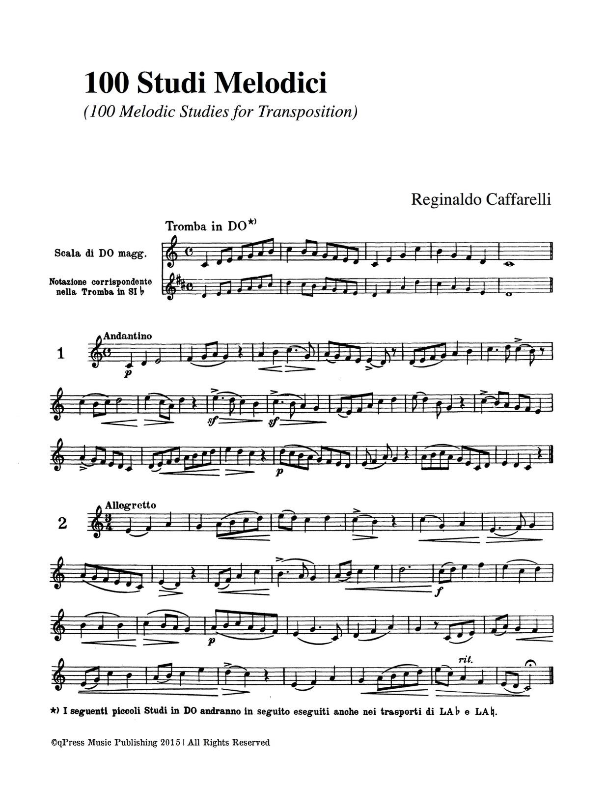 Caffarelli, 100 Studi Melodici-p09