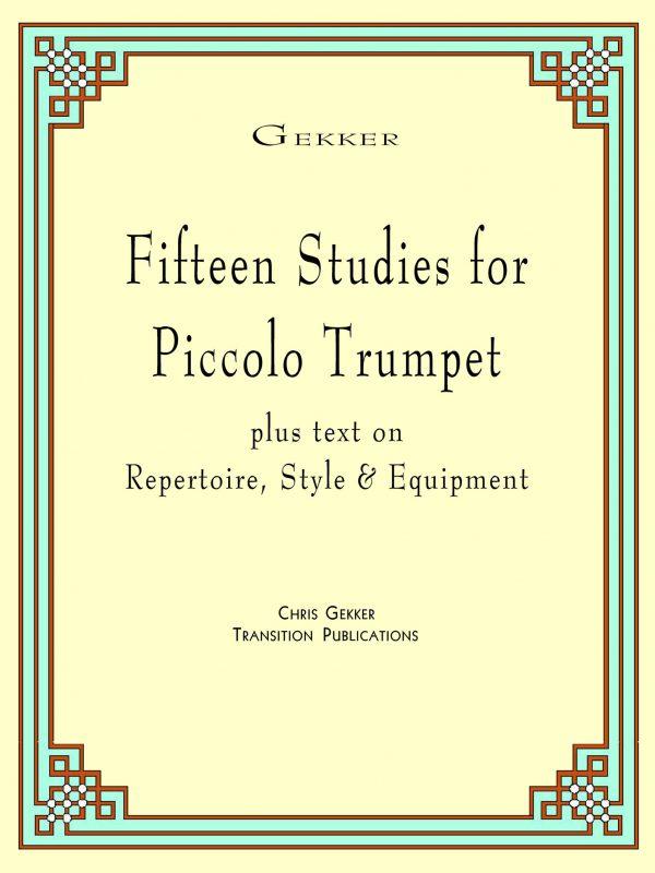 Gekker, 15 Piccolo Studies